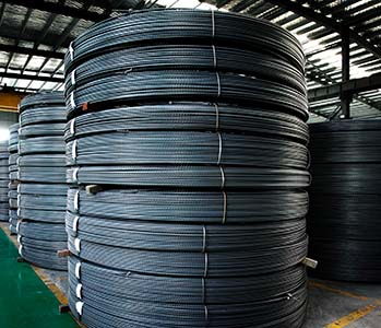 Pipe pile reinforcing bar production line