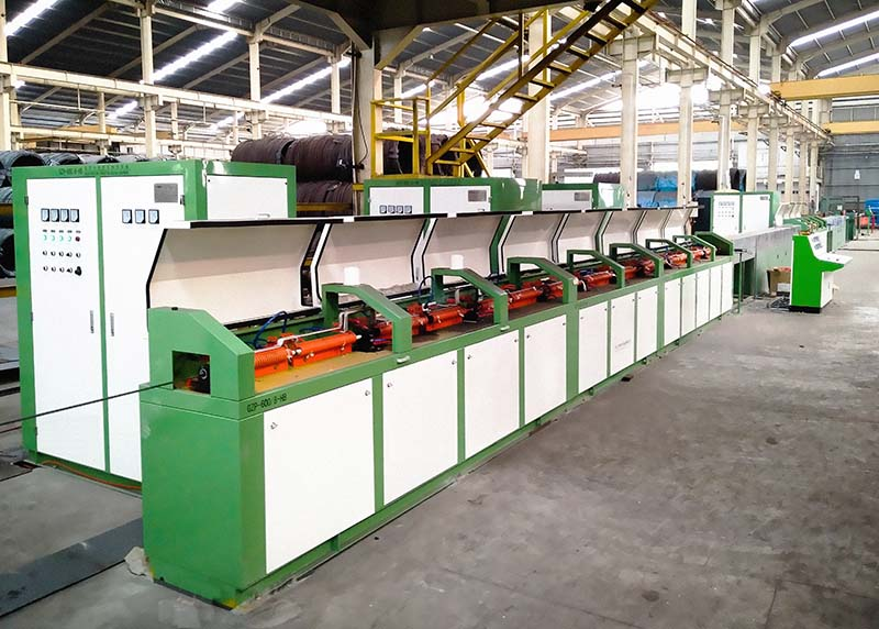 PC steel bar production line induction heating equipment
