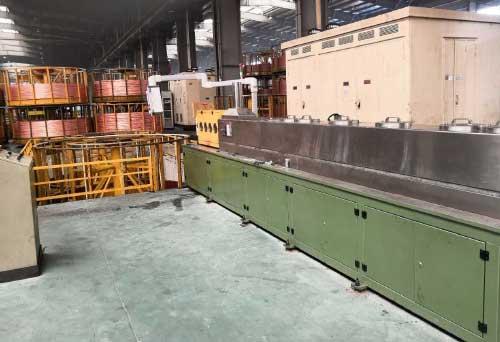 Light annealing induction heating equipment